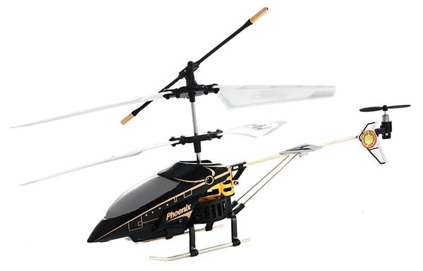 Вертолёт 3-к микро и/к Phantom 6010 (черный) фото видео изображение