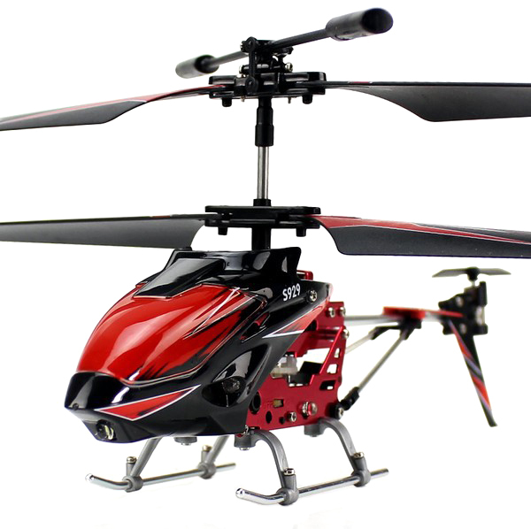 Вертолёт 3-к микро и/к WL Toys S929 с автопилотом (красный) фото видео изображение