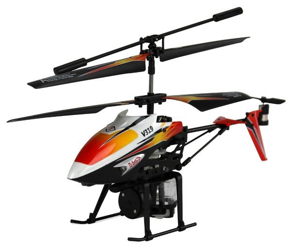 Вертолёт 3-к микро и/к WL Toys V319 SPRAY водяная пушка (оранжевый) фото видео изображение