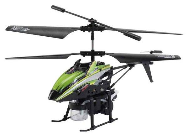 Вертолёт 3-к микро и/к WL Toys V757 BUBBLE мыльные пузыри (зелёный) фото видео изображение