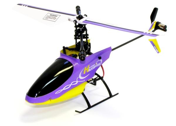 Купить Вертолёт 4-к микро р/у 2.4GHz Xieda 9958 (фиолетовый) цена