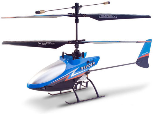 Купить Вертолёт 4-к микро р/у 2.4GHz Xieda 9998 соосный (синий) цена