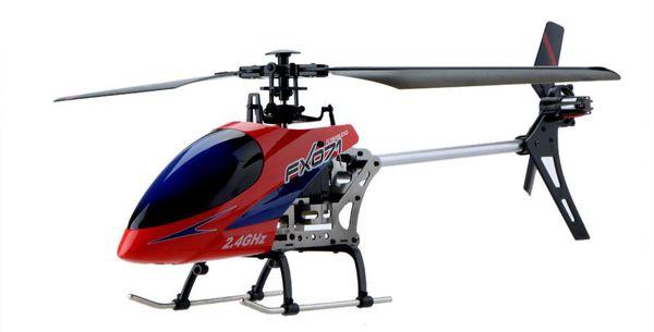 Вертолёт 4-к большой р/у 2.4GHz Fei Lun FX071C бесфлайбарный фото видео изображение