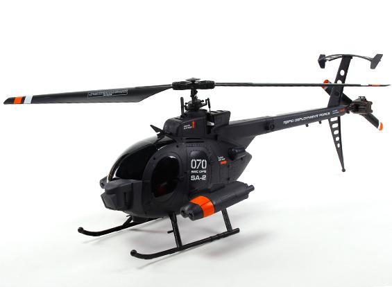Вертолёт 4-к большой р/у 2.4GHz Fei Lun MD-500 копийный фото видео изображение