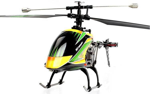 Вертолёт 4-к большой р/у 2.4GHz WL Toys V912 Sky Dancer фото видео изображение