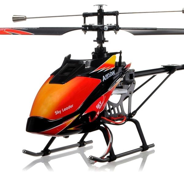 Вертолёт 4-к большой р/у 2.4GHz WL Toys V913 Sky Leader фото видео изображение