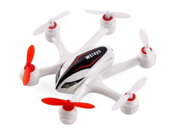 Гексакоптер нано р/у WL Toys Q272 Tracker (белый) фото видео изображение