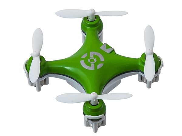 Квадрокоптер нано р/у 2.4Ghz Cheerson CX-10 (зеленый) фото видео изображение