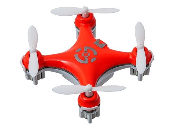 Квадрокоптер нано р/у 2.4Ghz Cheerson CX-10 (оранжевый) фото видео изображение