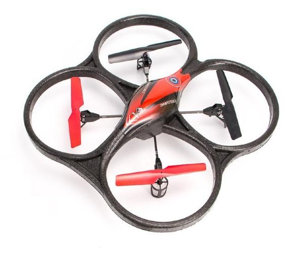 фото Квадрокоптер р/у 2.4GHz WL Toys V606 Cyclone Mini (красный) видео отзывы