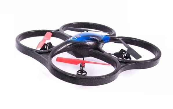 фото Квадрокоптер р/у 2.4GHz WL Toys V606 Cyclone Mini (синий) видео отзывы