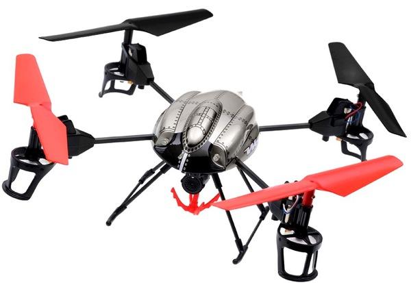 Квадрокоптер р/у 2.4Ghz WL Toys V999 Rescue подъёмный кран фото видео изображение