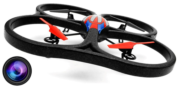 фото Квадрокоптер большой р/у 2.4GHz WL Toys V333 Cyclone 2 с камерой видео отзывы