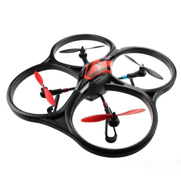 фото Квадрокоптер большой р/у 2.4GHz WL Toys V393 Cyclone бесколлекторный видео отзывы