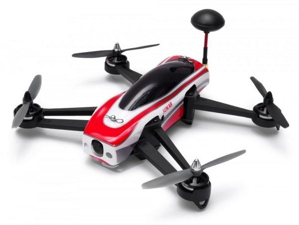 Гоночный FPV квадрокоптер SkyRC Socar 280мм RTF с дисплеем 4&quot фото видео изображение