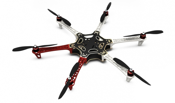 Гексакоптер DJI Flame Wheel F550 комплект для сборки ARF фото видео изображение