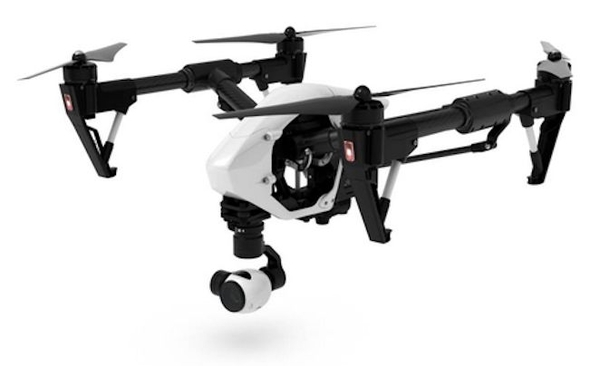 Квадрокоптер DJI Inspire 1 с 4K видеокамерой (1 пульт) фото видео изображение