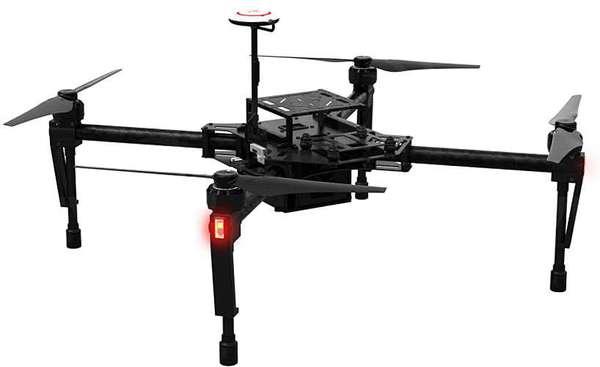 Квадрокоптер DJI Matrice 100 фото видео изображение