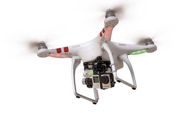 Купить Квадрокоптер DJI Phantom 2 V2.0 H4-3D Edition с подвесом Zenmuse H4-3D для камер GoPro цена