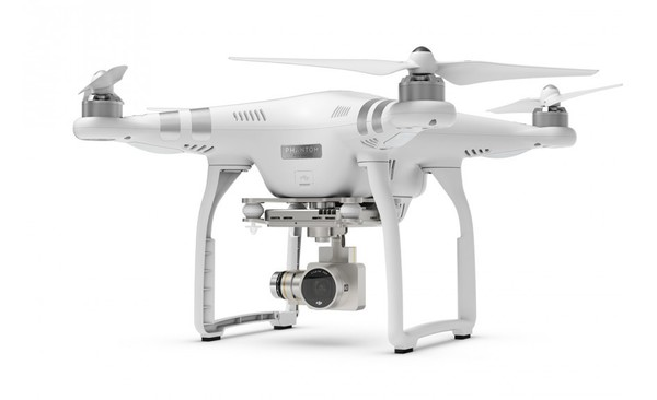 Квадрокоптер DJI Phantom 3 Advanced с подвесом и камерой FullHD фото видео изображение