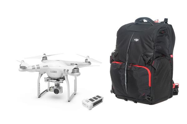 фото Квадрокоптер DJI Phantom 3 Advanced с рюкзаком и дополнительной батареей видео отзывы