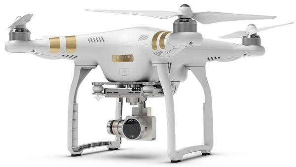 Квадрокоптер DJI Phantom 3 Professional с подвесом и камерой 4K фото видео изображение