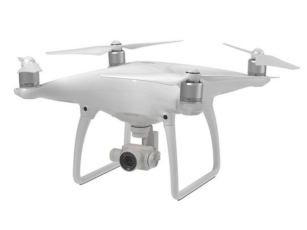 Квадрокоптер DJI Phantom 4 с подвесом и камерой 4K фото видео изображение