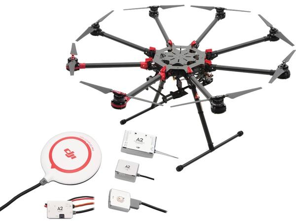фото Октокоптер DJI S1000Plus + полетный контроллер A2 видео отзывы