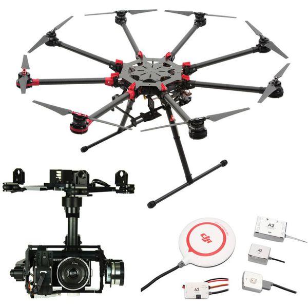Купить Октокоптер DJI S1000Plus + полетный контроллер A2 + подвес Z15-N7 цена