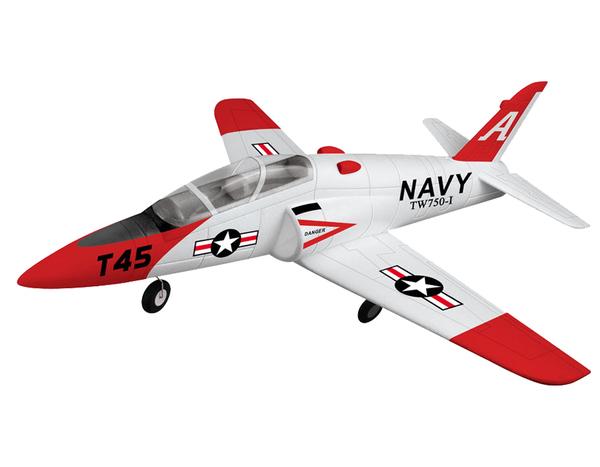 Модель р/у 2.4GHz реактивного самолёта VolantexRC Goshawk T45 (TW-750-1) 780мм RTF фото видео изображение