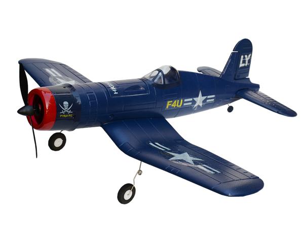 Модель р/у 2.4GHz самолёта VolantexRC Corsair F4U (TW-748-1) 840мм RTF фото видео изображение
