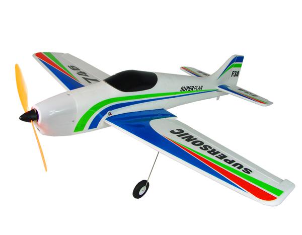 Модель р/у 2.4GHz спортивного самолёта VolantexRC Supersonic F3A (TW-746) 900мм RTF фото видео изображение