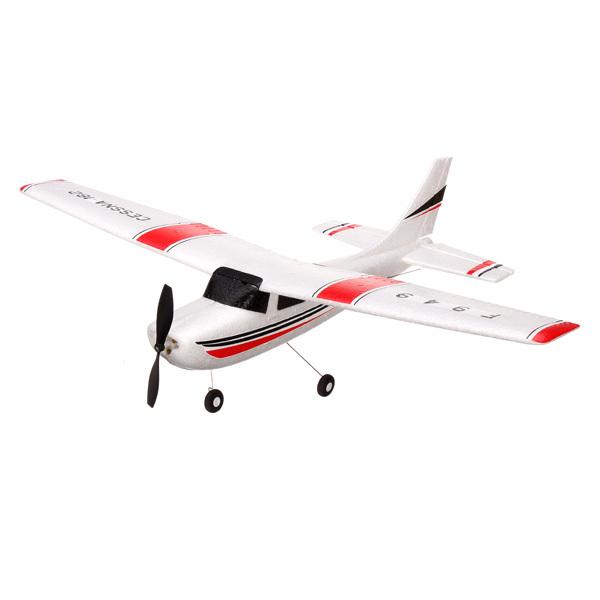 Самолёт 3-к р/у 2.4GHz WL Toys F949 Cessna фото видео изображение