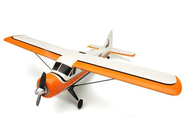 Самолёт 4-к р/у 2.4GHz XK A600 DHC-2 Beaver бесколлекторный со стабилизацией 570мм RTF фото видео изображение