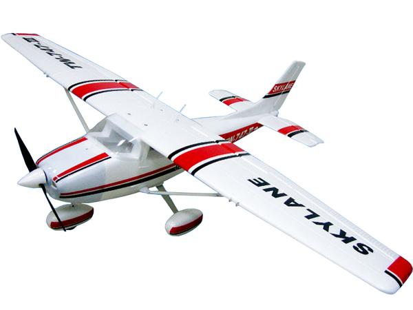 Модель р/у 2.4GHz самолёта VolantexRC Cessna 182 Skylane (TW-747-3) 1560мм KIT фото видео изображение