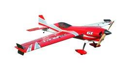 Самолёт р/у Precision Aerobatics Addiction X 1270мм KIT (красный) фото видео изображение
