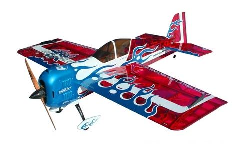 Самолёт р/у Precision Aerobatics Addiction XL 1500мм KIT (красный) фото видео изображение