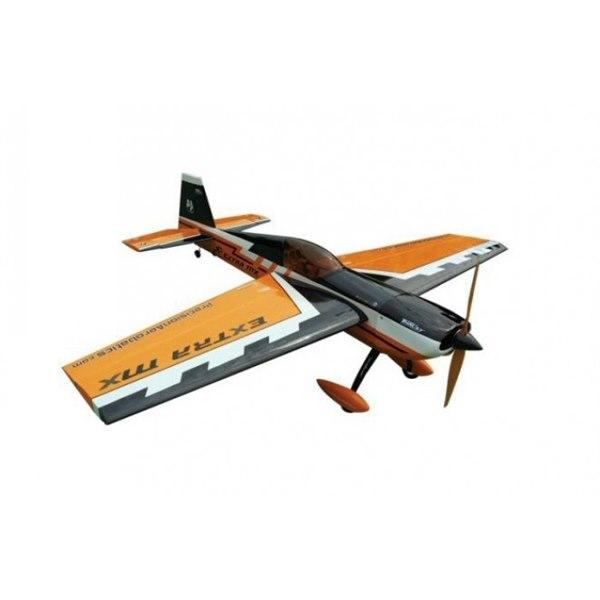 Самолёт р/у Precision Aerobatics Extra MX 1472мм KIT (желтый) фото видео изображение