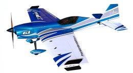 Самолёт р/у Precision Aerobatics Extra MX 1472мм KIT (синий) фото видео изображение
