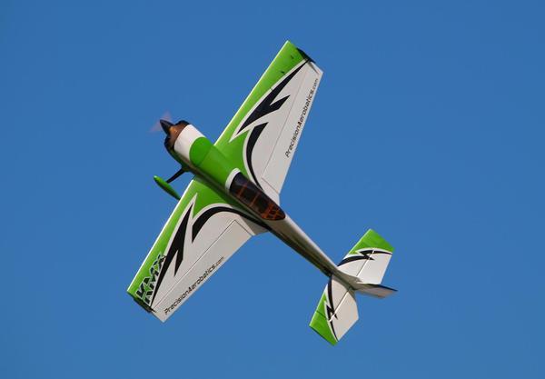 Самолёт р/у Precision Aerobatics Katana MX 1448мм KIT (зеленый) фото видео изображение