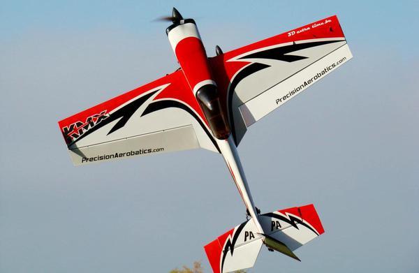 Самолёт р/у Precision Aerobatics Katana MX 1448мм KIT (красный) фото видео изображение