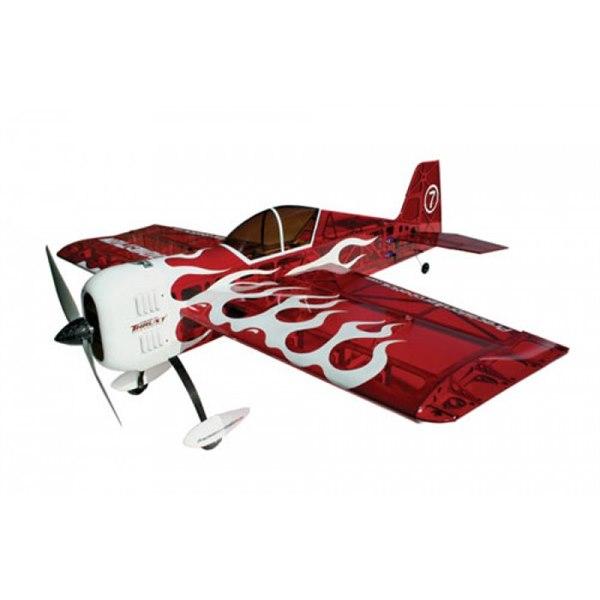 Самолёт р/у Precision Aerobatics Katana Mini 1020мм KIT (красный) фото видео изображение