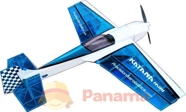 Самолёт р/у Precision Aerobatics Katana Mini 1020мм KIT (фиолетовый) фото видео изображение