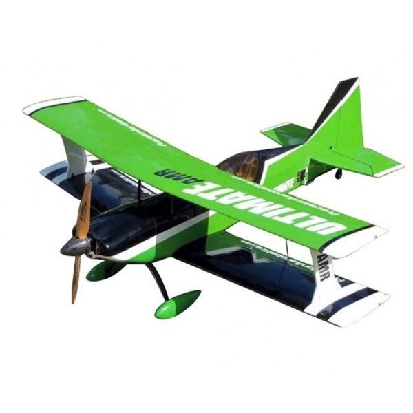 Самолёт р/у Precision Aerobatics Ultimate AMR 1014мм KIT (зеленый) фото видео изображение