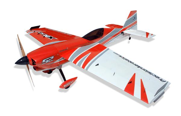 Купить Самолёт р/у Precision Aerobatics XR-52 1321мм KIT (красный) цена
