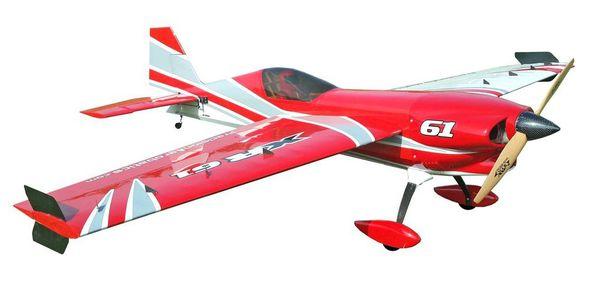 Самолёт р/у Precision Aerobatics XR-61 1550мм KIT (красный) фото видео изображение