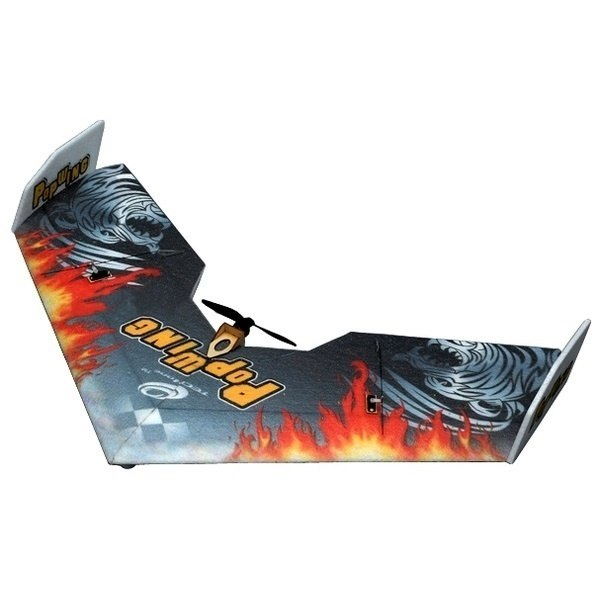 Летающее крыло Tech One Popwing 900мм EPP ARF (черный) фото видео изображение