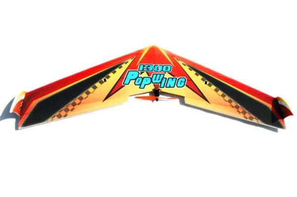 Летающее крыло Tech One Popwing 1300мм EPP ARF фото видео изображение