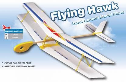 фото Планер (биплан) метательный ZT Model Sky Hawk II 420мм видео отзывы