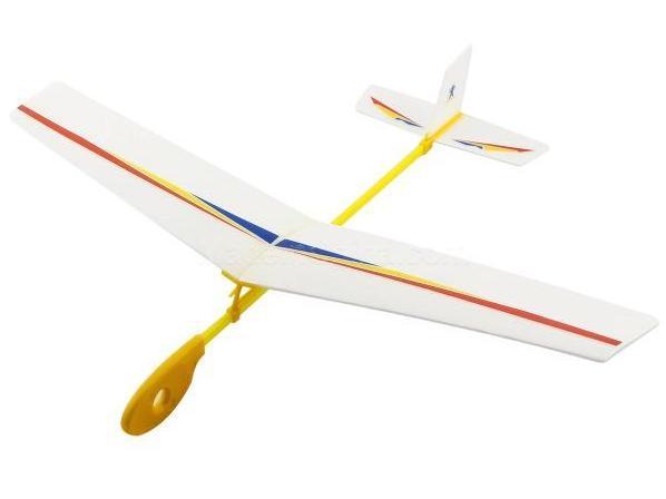 Планер метательный ZT Model Flying Hawk 420мм фото видео изображение